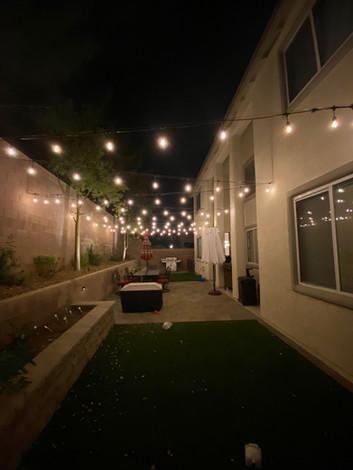 Soft White Bistro Lights