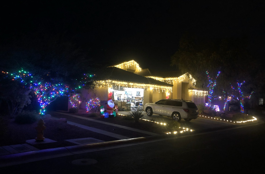 If you already have lights you love, we'll hang those for you, too!