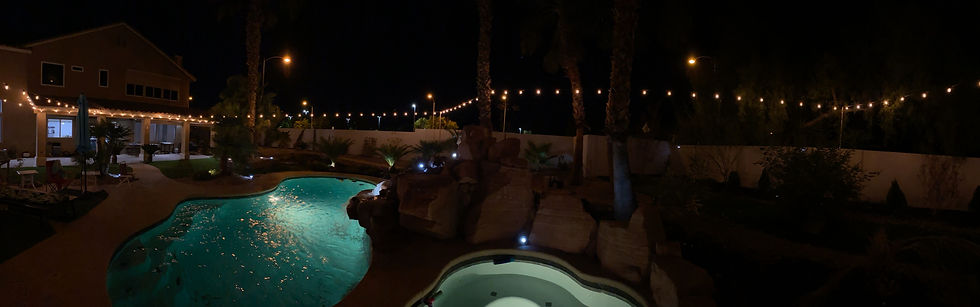 Bistro Lights- Panoramic