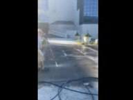 commercial parking lot pavement pressure