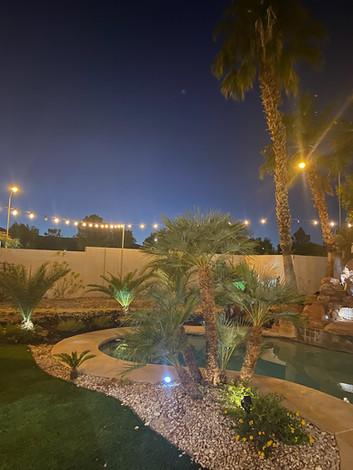Outdoor Bistro Lights