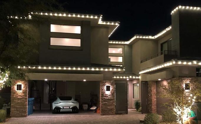 Soft White LED Roof-lining