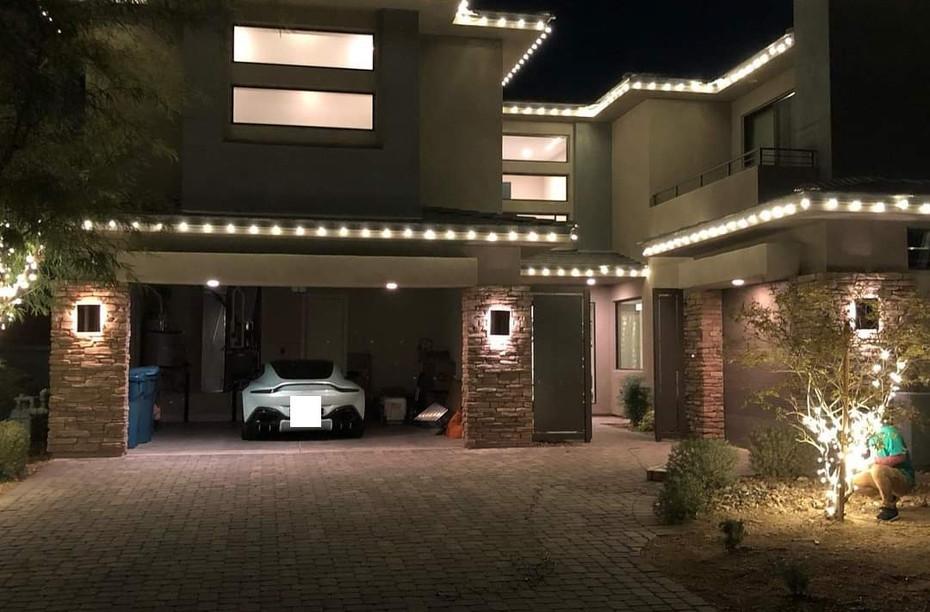 Soft White LED Roof Lining