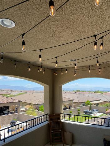 Balcony Bistro Lights