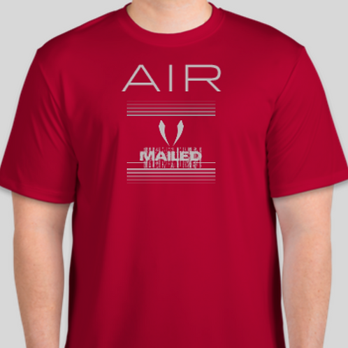 Air Mailed Tee (Red)