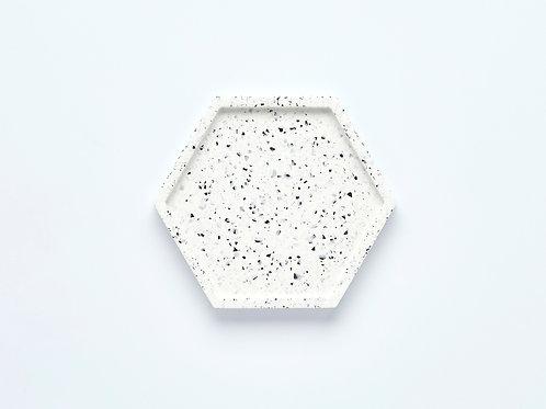 Hexagon Terrazzo Tray