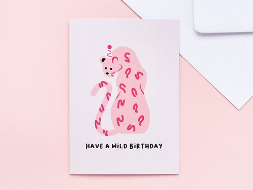 'Have a Wild Birthday' Greeting Card