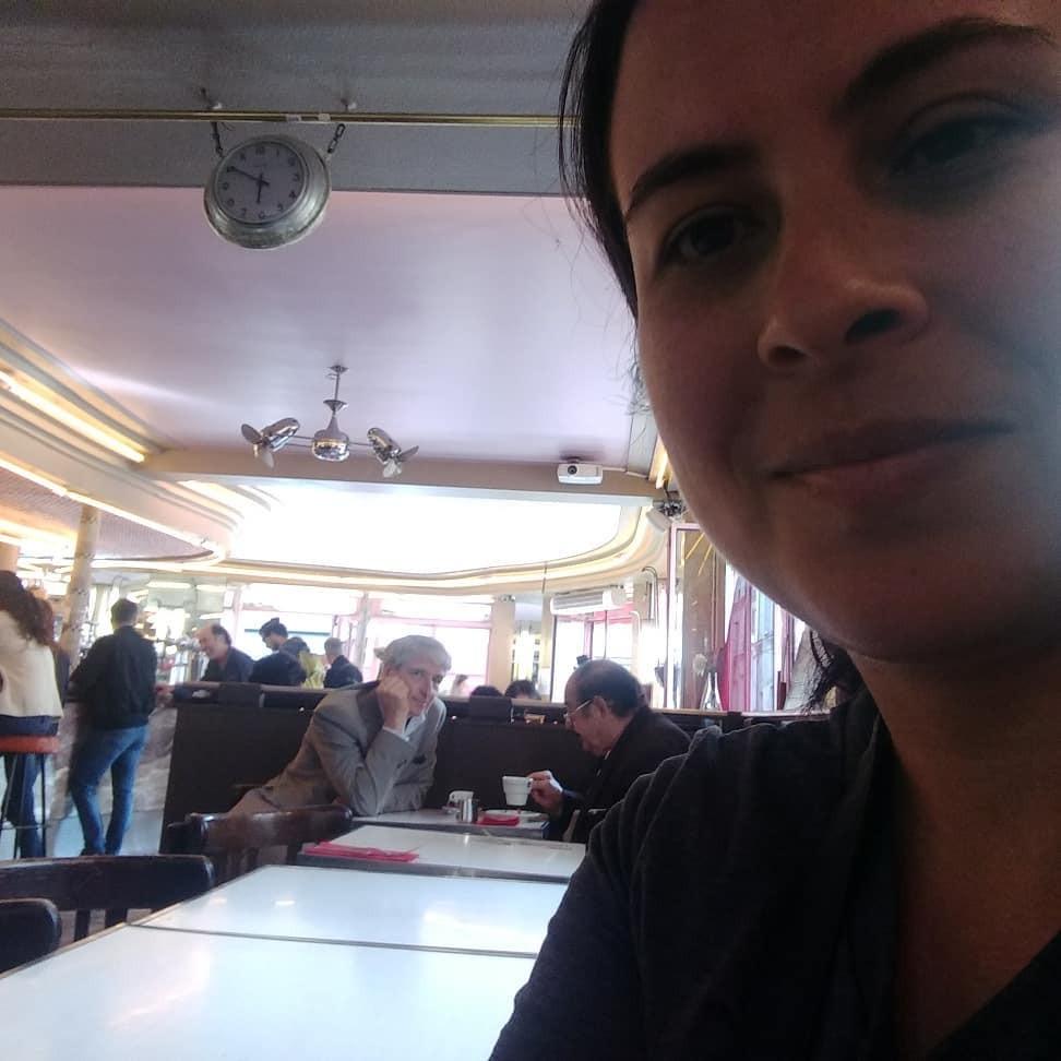 selfie no café des 2 moulin