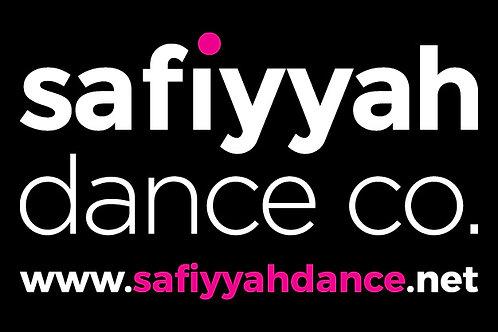 Safiyyah Dance Rectangle Bumper Sticker