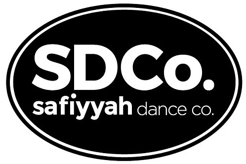 Safiyyah Dance Oval Bumper Sticker