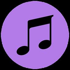 Lavender Llama Website Music Note Icon.p