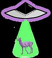 Lavender Llam Vintage Logo UFO.png