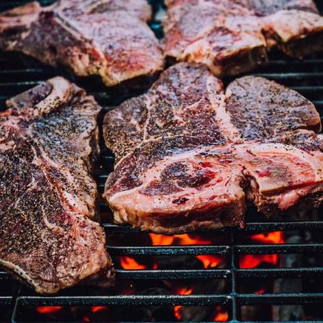Lifestyle food photo of steak