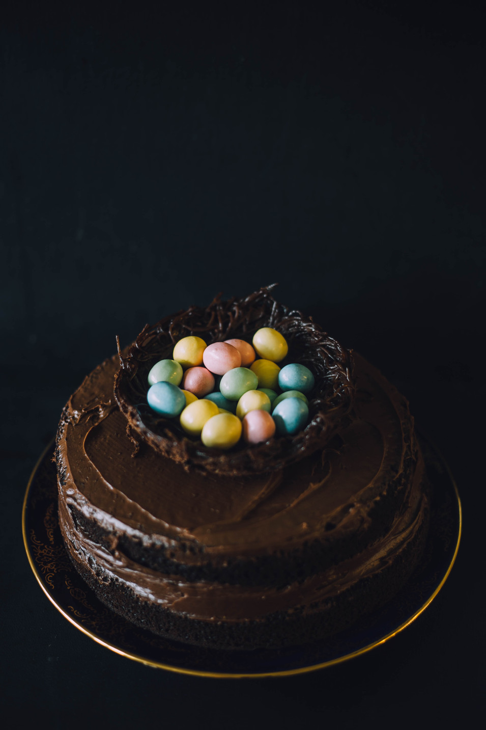 Product Photo of a chocolate cake