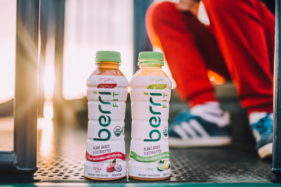 Commercial photo of a healthy beverage