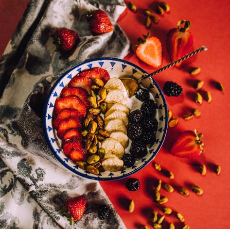 Yogurt Bowl with Fresh Fruit