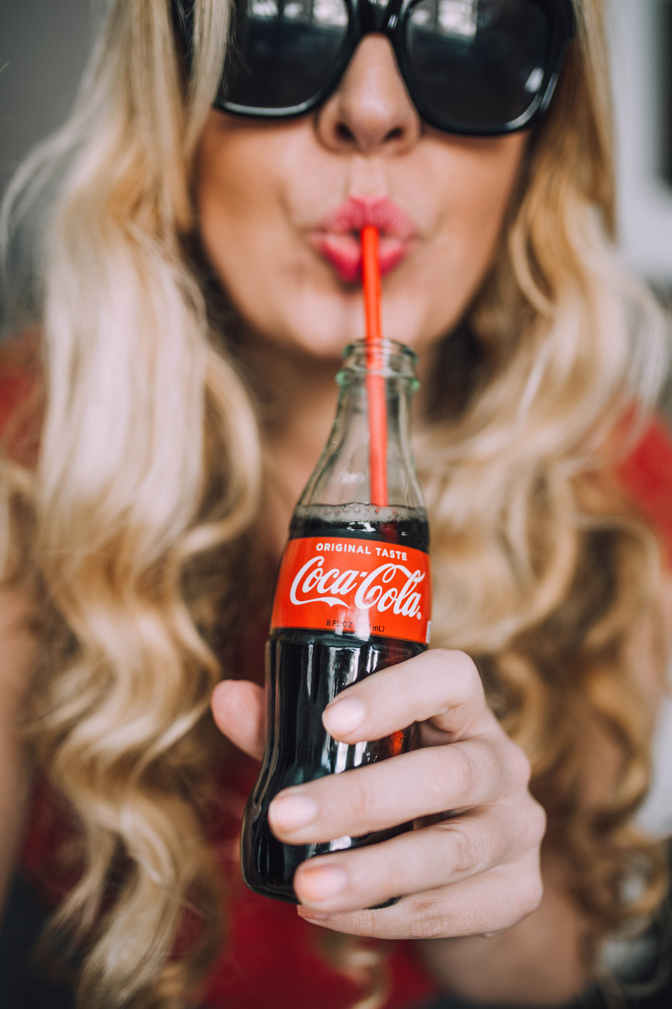 Commercial photoshoot for Coca-Cola