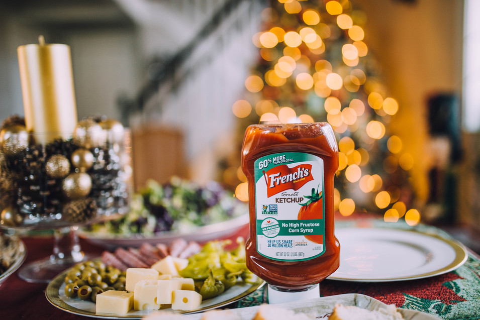 Commercial photo of a product - Ketchup
