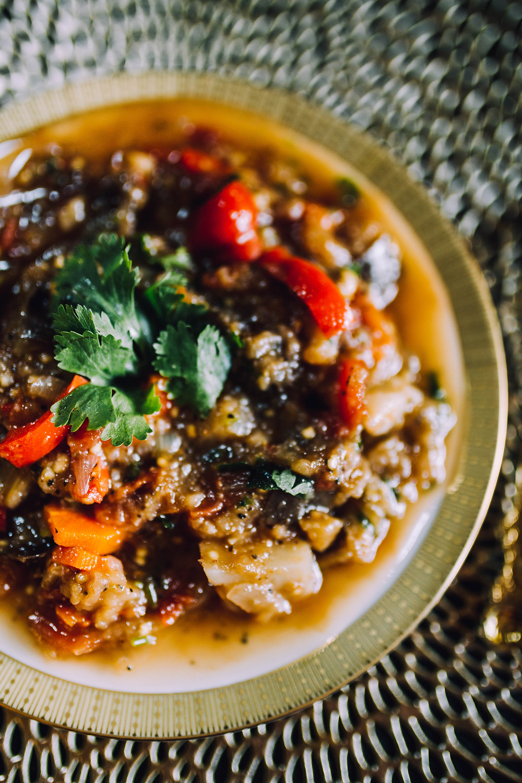 Ajapsandali - Georgian eggplant stew