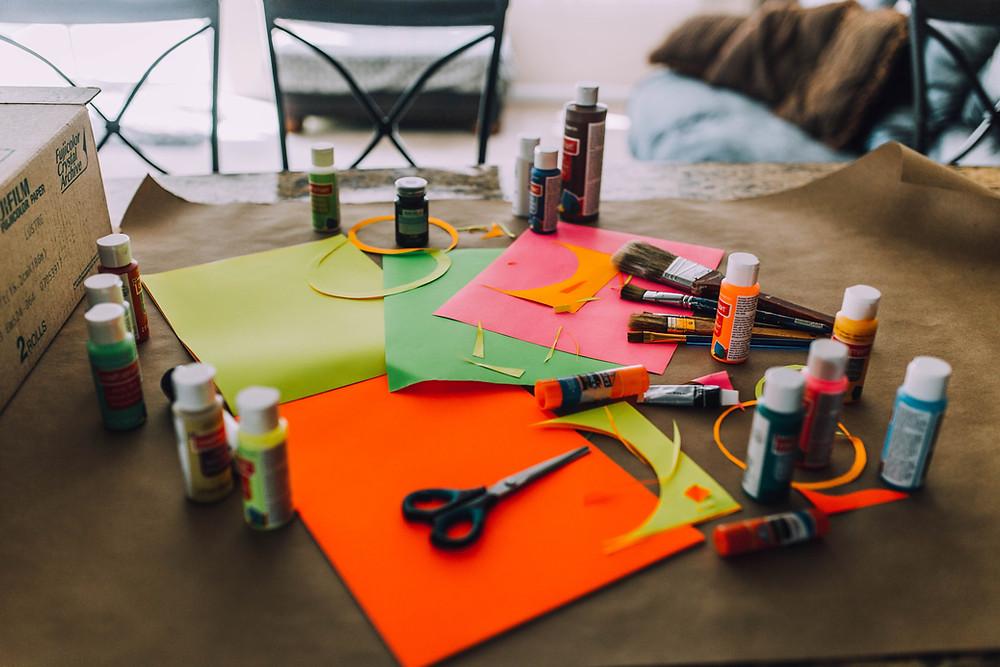 DIY Supply for Tiki Totem Poles
