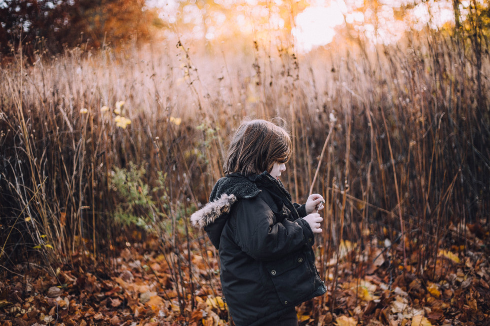 Lifestyle image of a boy in the nature