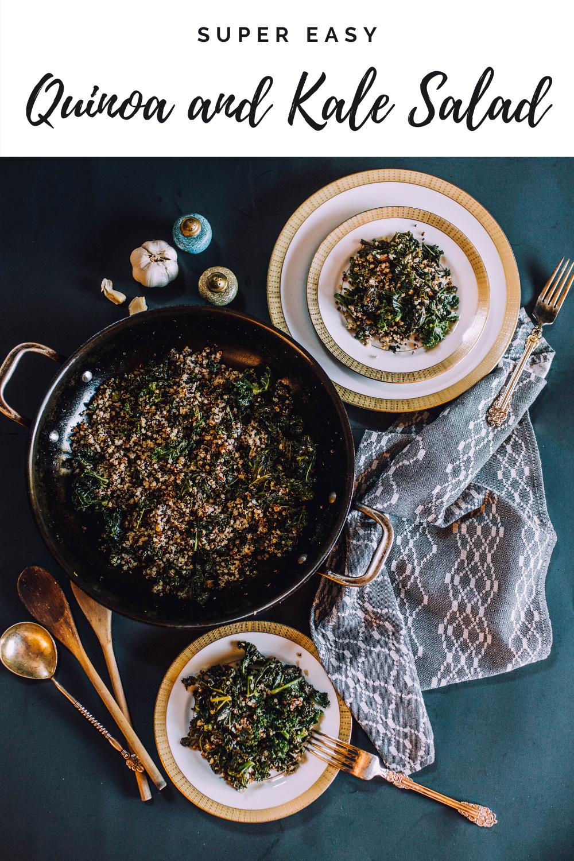 Basic Quinoa and Kale Salad
