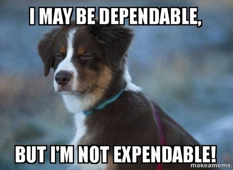Dependability....