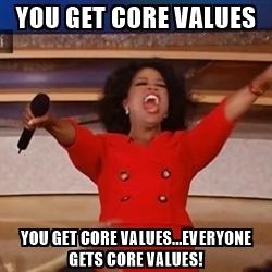 Core Values.......