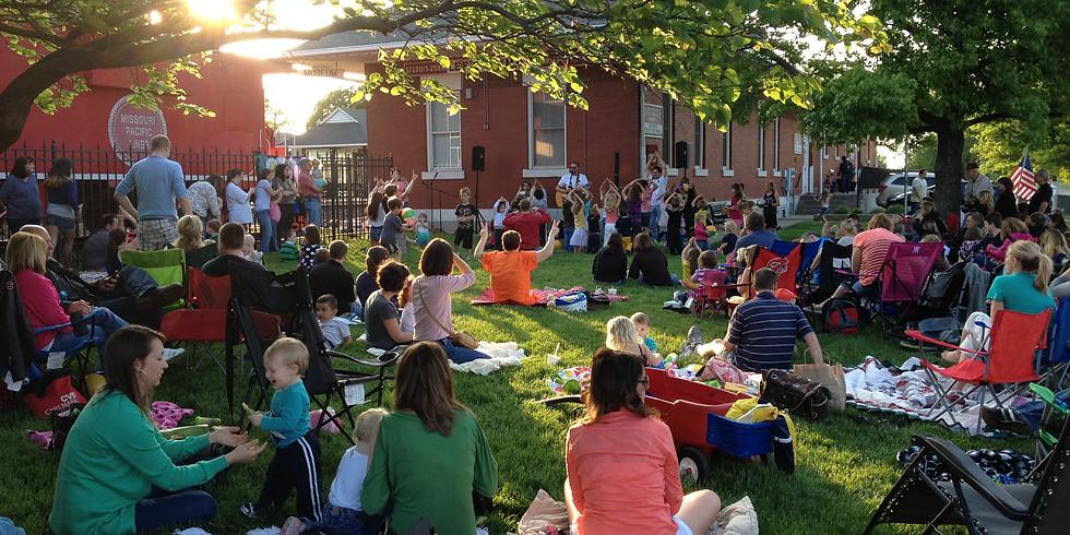 Music in the Park @ Slater Park (Tuesdays 6-8 p.m.)