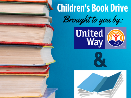 United Way of RI's Annual Children's Book Drive: May 1 - 31, 2021