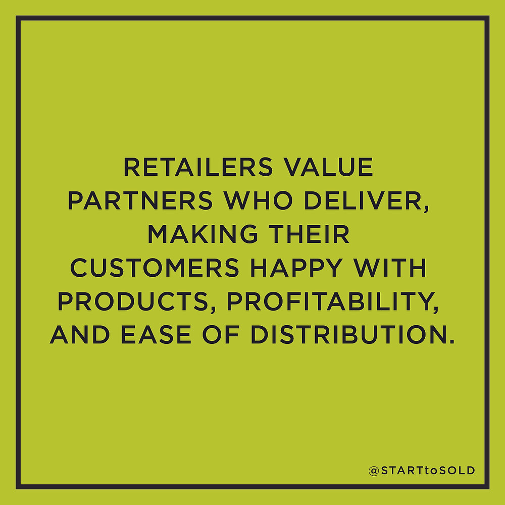 The key to a great retail meeting is to be honest and upfront - and seek to understand and support your retail buyer.