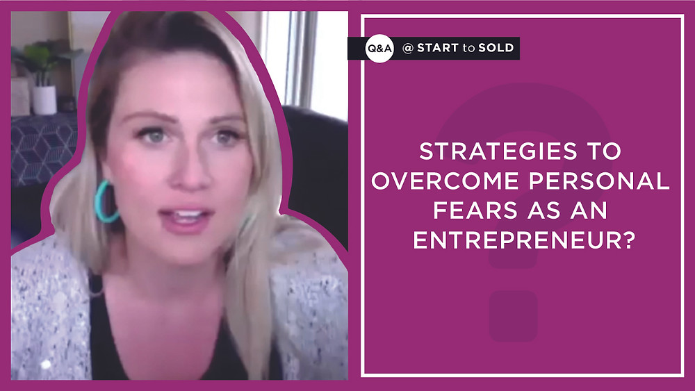Build a network of people who are just like you when you're an entrepreneur to overcome stress or fear, says Emily Page.