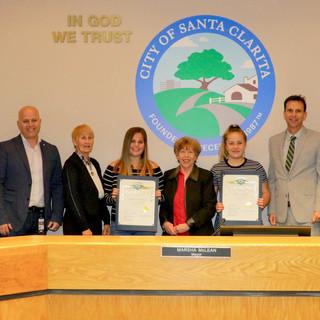 Santa Clarita City Council Award!