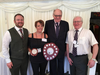 Claire Oakes named first female to be awarded The Maurice Adamson Award by Safety Group UK