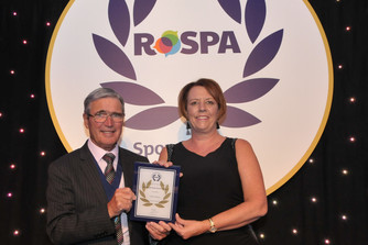 Create Group's Safety Lead wins RoSPA 'Distinguished Service Award' in recognition of her sustai