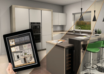 Create Homes launches new online Kitchen Colour Visualiser tool for their customers