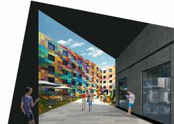 Morfa Road, Swansea 3D Visualisation 4_e