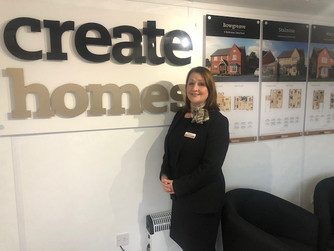 Create Homes appoints new Sales Executive