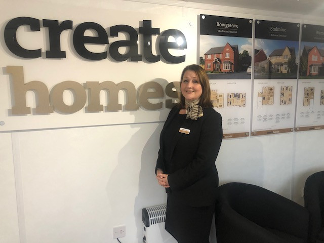 Lorraine Brown, Sales Executive, Create Homes