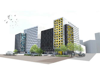 Create Construction announces Phase 2 of their student accommodation project in Salford with Bricks