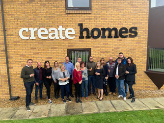 New home for Blackpool based house builder, Create Homes