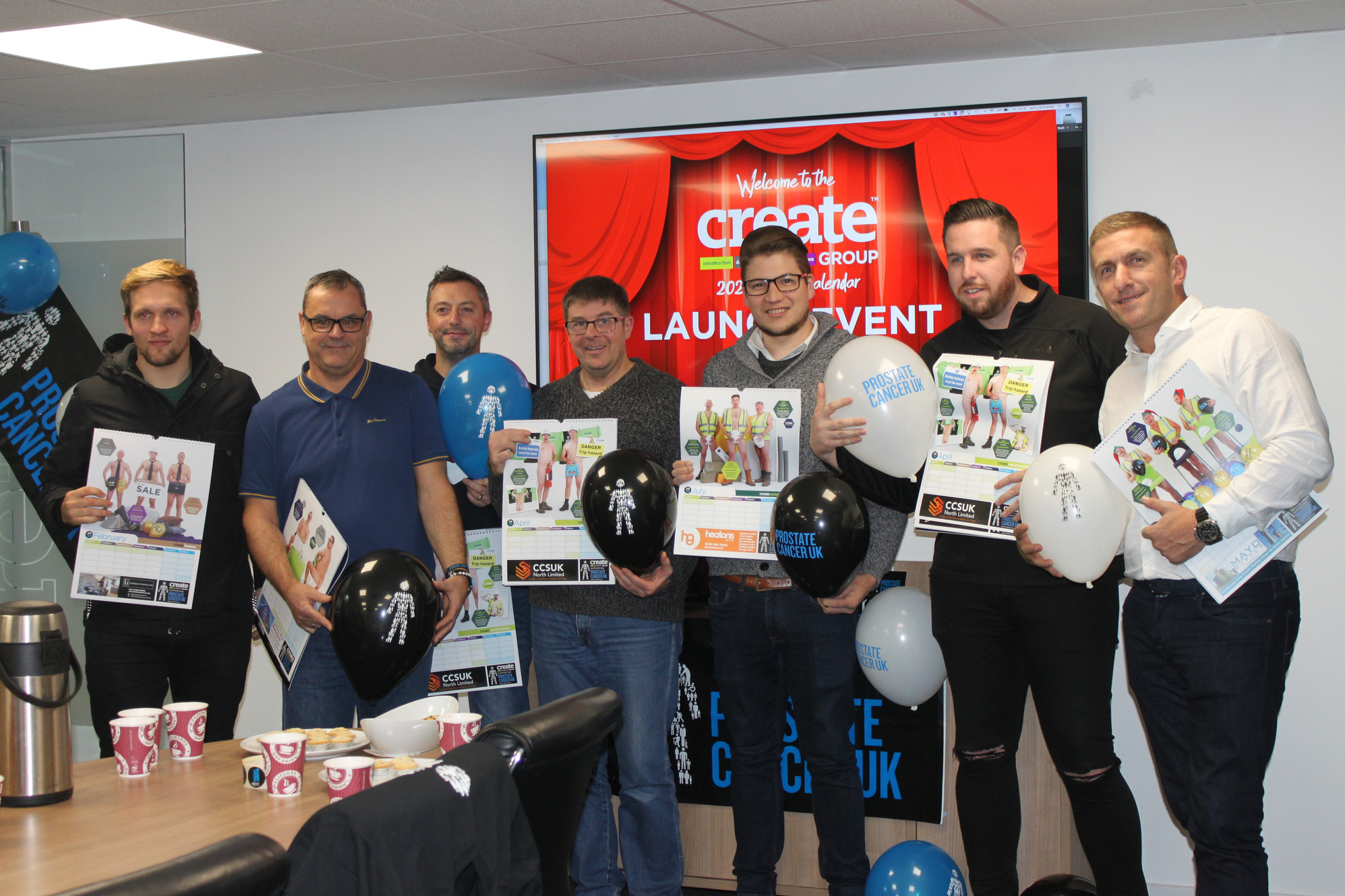 Create Group, Blackpool launch naked 2020 charity