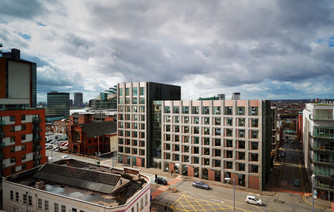 Create Group to celebrate milestone in the build of new Hampton By Hilton hotel in Manchester