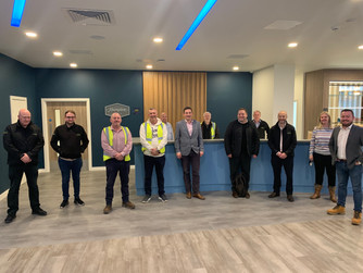 Create Construction completes build of  prestigious Manchester Hampton by Hilton Hotel