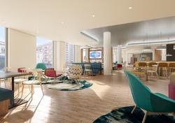 Interior of Hampton by Hilton Manchester