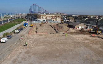 PILING COMPLETE AT BLACKPOOL
