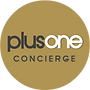 Plus One Concierge Logo