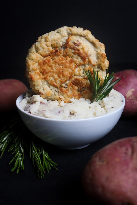 Rosemary Sweet Potato Rosti for Gobbler Bomb