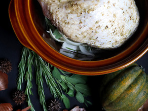 Rosemary & Sage Slow-Cooker Pulled Turkey