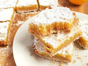 Vegan Shortbread Lemon-Ginger Bars
